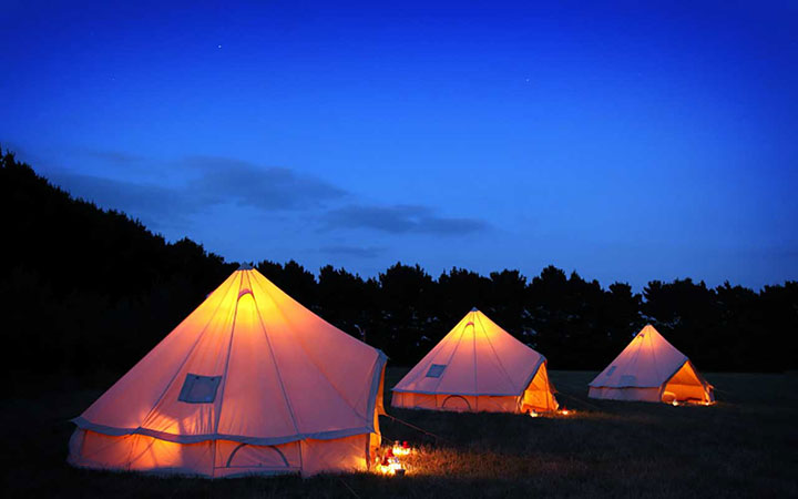 Wild Camp - Luxury Bell Tents