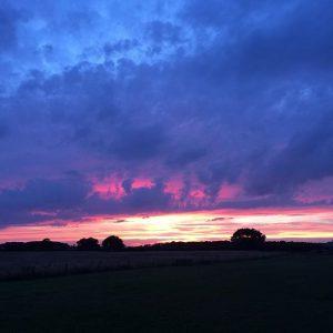 Hideaway Glamping Sunset
