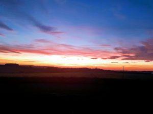 Glamping Sunset Norfolk
