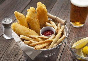 Glamping Fish Chips